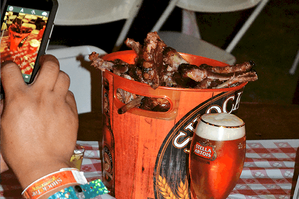 VIP Rib Village Bucket of Ribs