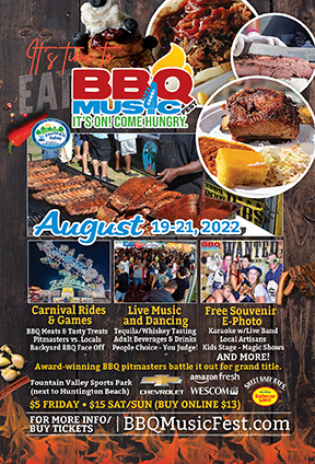 BBQ Music Fest Event Flyer